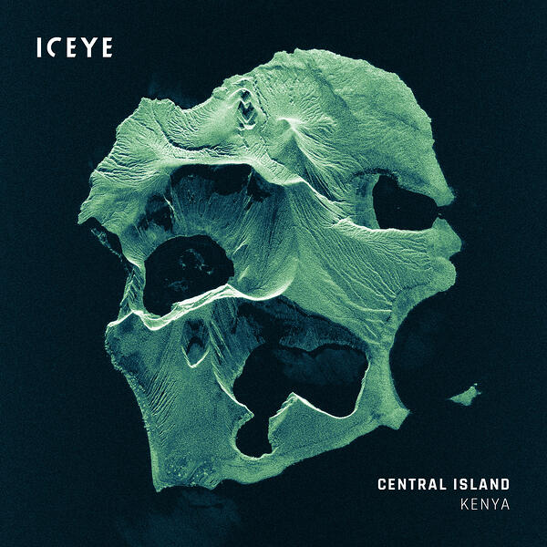 ICEYE_SAR_Satellite_Image_Lake_Turkana_Central_Island