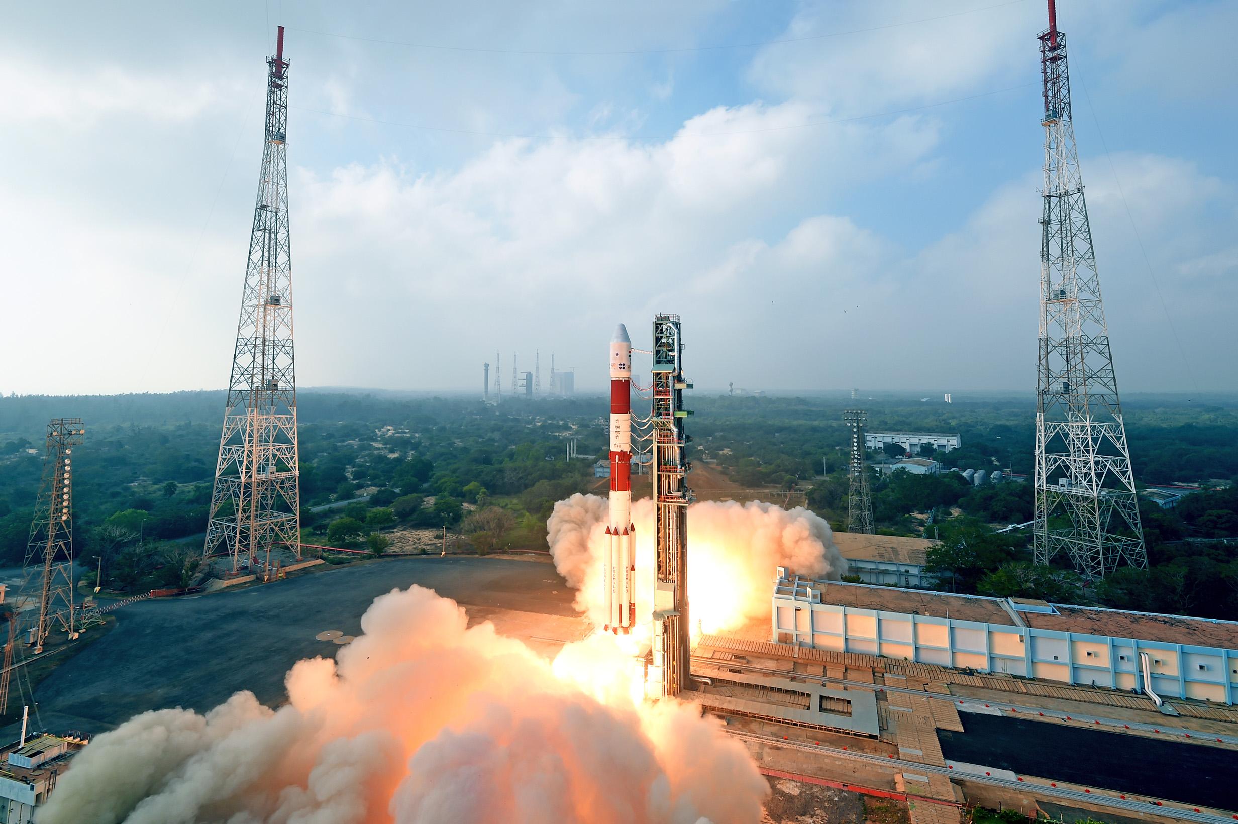Credit-Antrix-ISRO-PSLV-C40-ICEYE-X1-Launch-1