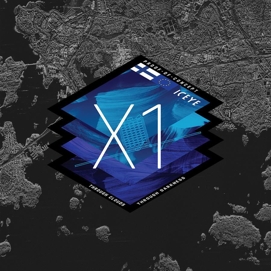 ICEYE-X1-mission-logo-900-bg